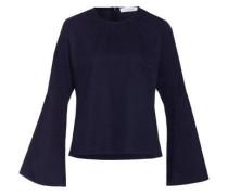 Bluse Blouse Flared Sleeve nachtblau