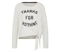 Sweatshirt 'onlamy' graumeliert