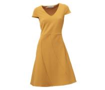 Bodyform-Prinzesskleid gelb