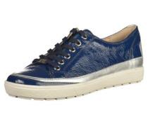 Sneaker blau / schwarz / silber / weiß