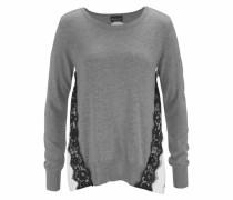 Pullover hellgrau / graumeliert / schwarz