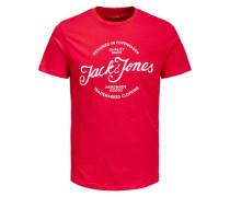T-Shirt 'jornewraffa Noos' rot