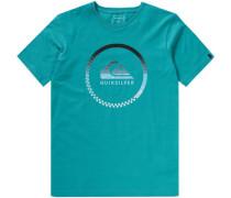 T-Shirt 'momentum' für Jungen türkis