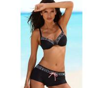 Bügel-Bikini schwarz