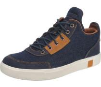 'Amherst' Sneakers dunkelblau / ocker