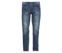 Polo Team Boyfriend-Jeans blau