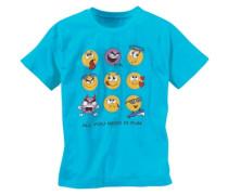 Sprüche T-Shirt für Jungen türkis