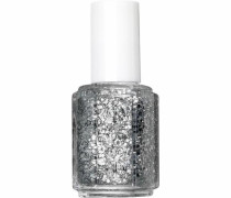 Nagellack ' Luxeeffects Topcoat' silber