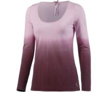 Langarmshirt Damen beere / rosa