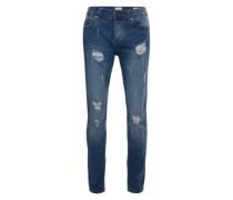 Destroyed Jeans blue denim