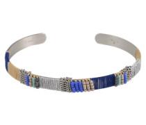 Armreif 'Colour solid' blau / silber