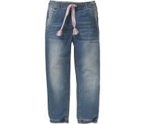 Jeanshose für Mädchen UV-Schutz 30+ blau