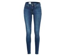 Skinny Jeans 'Midge Zip' blue denim