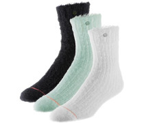 Sneakersocken mint / schwarz / weiß