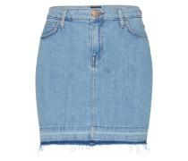 Jeans Minirock hellblau