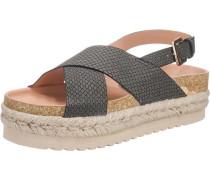 'Dakota' Sandaletten schwarz