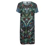 Print-Kleid 'Tropical' mischfarben