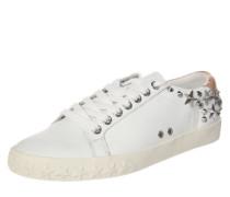 Sneaker 'Dazed'mit Nieten-Verzierung rosegold / silber / weiß