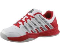 'Court Impact Tennisschuhe Kinder rot / weiß