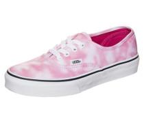 Authentic Tie Dye Sneaker Kinder pink / rosa