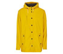 Moderne Regenjacke 'Passenger' gelb