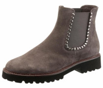 Chelseaboots grau / taupe