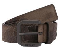 Ledergürtel 'Leather Belt'