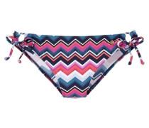 Bikini Hose ultramarinblau / pink
