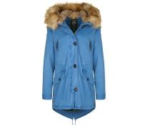 Parka 'gstaad Fake Fur' blau