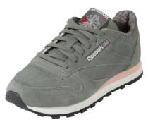 Sneaker im Retro-Look grau