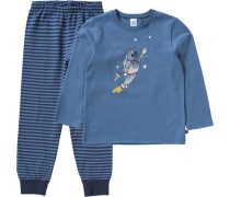 Schlafanzug für Jungen Astronaut blau / navy / blue denim