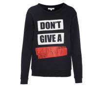 Sweatshirt 'graphic' schwarz