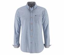 Streifenhemd »Neps stripe shirt« blau