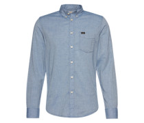Hemd ' Button Down' blue denim
