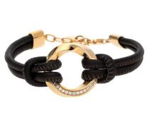 Armband 'Olympia Glamline' braun / gold