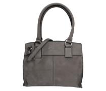 Handtasche 'Velvet Boxy' grau