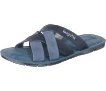 Offene Schuhe taubenblau