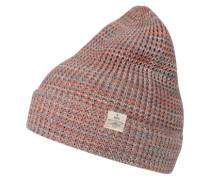 Mütze 'Fleeti' pinkmeliert / pastellrot