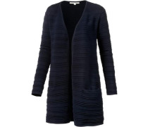 Strickjacke Damen navy