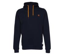 Sweater 'jcopinn Sweat Hood Noos' navy / dunkelorange