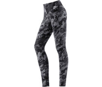 'Rock Garden' Leggings Damen grau / schwarz