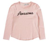 Langarmshirt für Mädchen rosa
