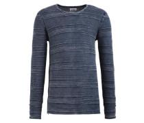 Pullover 'paolo' blau / dunkelblau