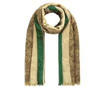 Schlangen-Schal aus Baumwolle Wolle und Modal