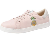 Sneakers gelb / grün / rosa / silber