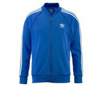 Trainingsjacke royalblau / weiß