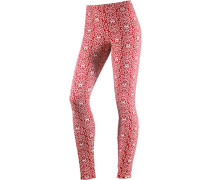 Leggings Damen rot