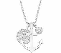 Silberkette 'Anker/Kreise 2017246' silber