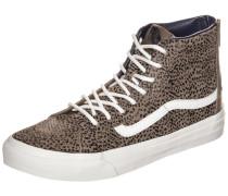Sneaker 'Sk8-Hi Slim Zip' braun