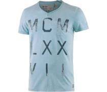 Printshirt blau